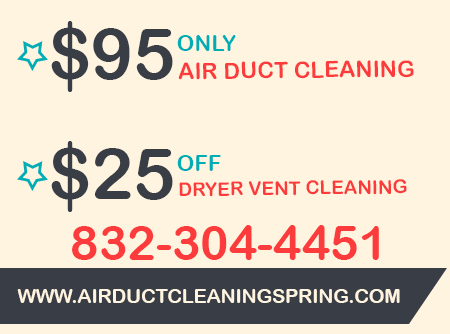 Dryer Vent Cleaning Spring {$25 off}